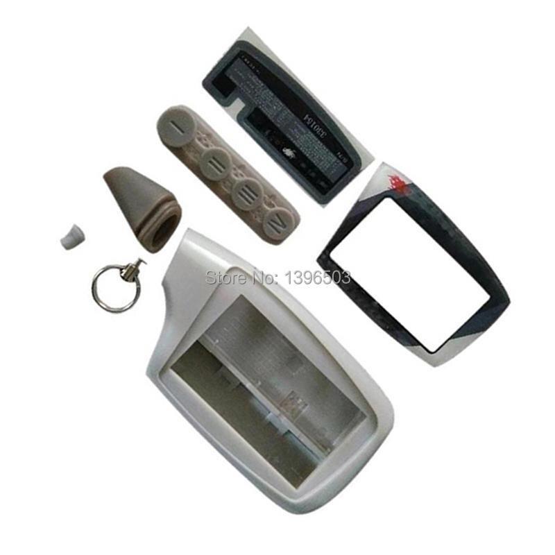 Чехол для корпуса брелок для русского Scher-Khan Magicar 5 6 2-полосная Автомобильная сигнализация LCD пульт дистанционного управления Scher Khan M902F M903F брелок для ключей