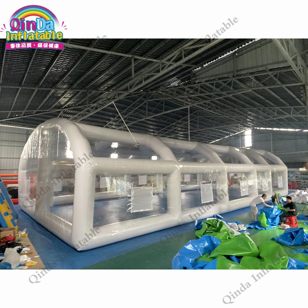 خيمة عملاقة قابلة للنفخ PVC مقاومة للماء لتغطية حمام السباحة
