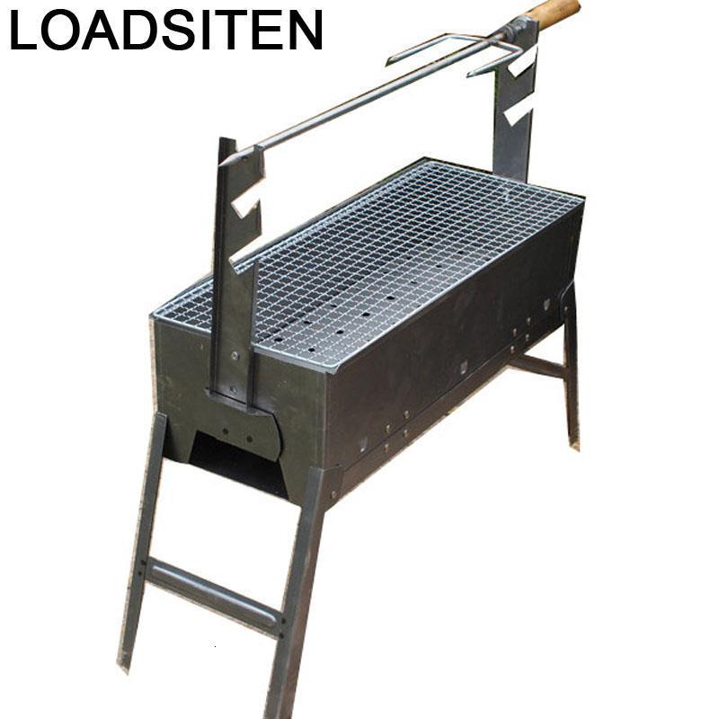 Máquina de Kebab para cocina, barbacoa de carbón de carbono Mangal Izgara...