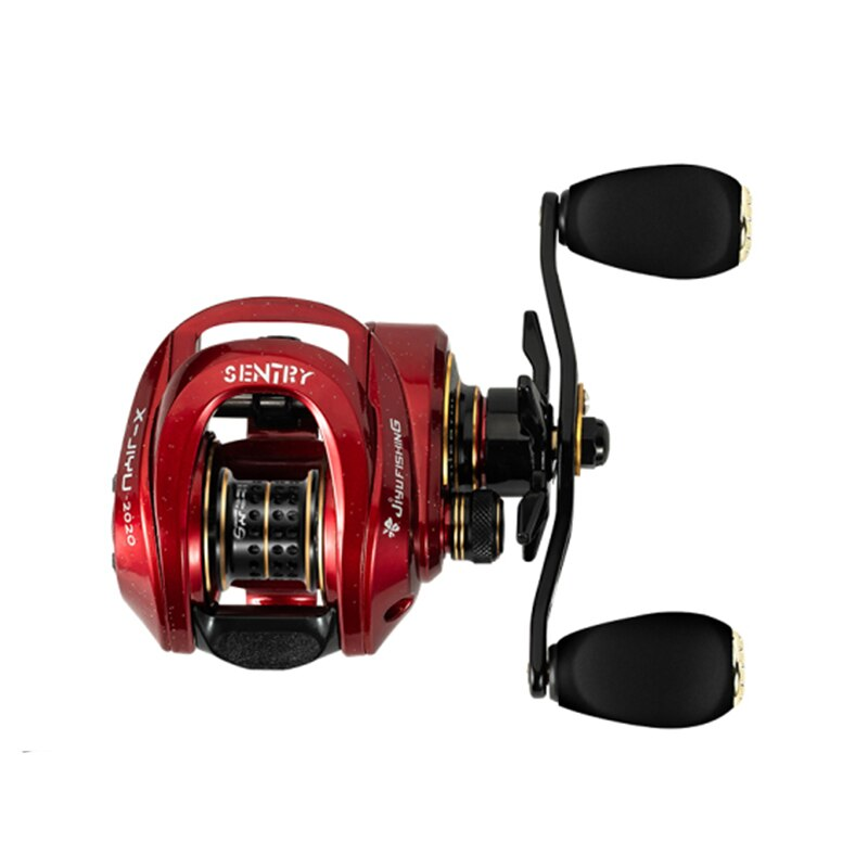 Drip Fishing Reel Baitcasting Reel Magnetic Brake System Reel 8KG Max Drag 19+1 BBs 7.3:1 Carretilha De Pesca Fishing Wheel