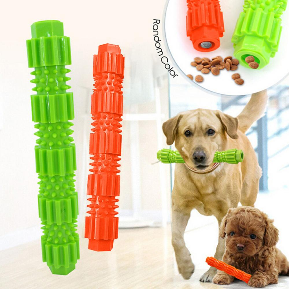 Зубная щетка для домашних животных силиконовая жевательная игрушка для чистки зубов маленькая форма кость собаки палка идеальная собачья Чистка рот уход за зубами продукты @ 40