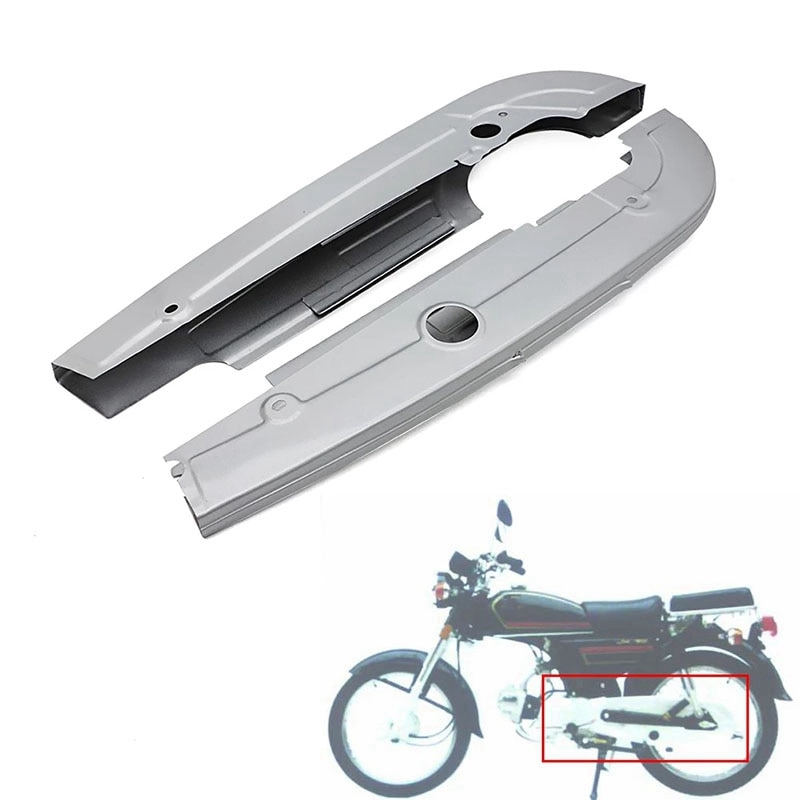 دراجة نارية سلسلة غطاء للحماية كاملة شاملة سلسلة غطاء الصندوق ل jiying jiying JH70 هوندا C65 C70 C90 65 70 90