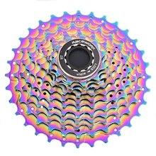 Sews-racework Cassette de vélo de route ultraléger 11S 11-28T vélo roue libre coloré pignon de vélo de route
