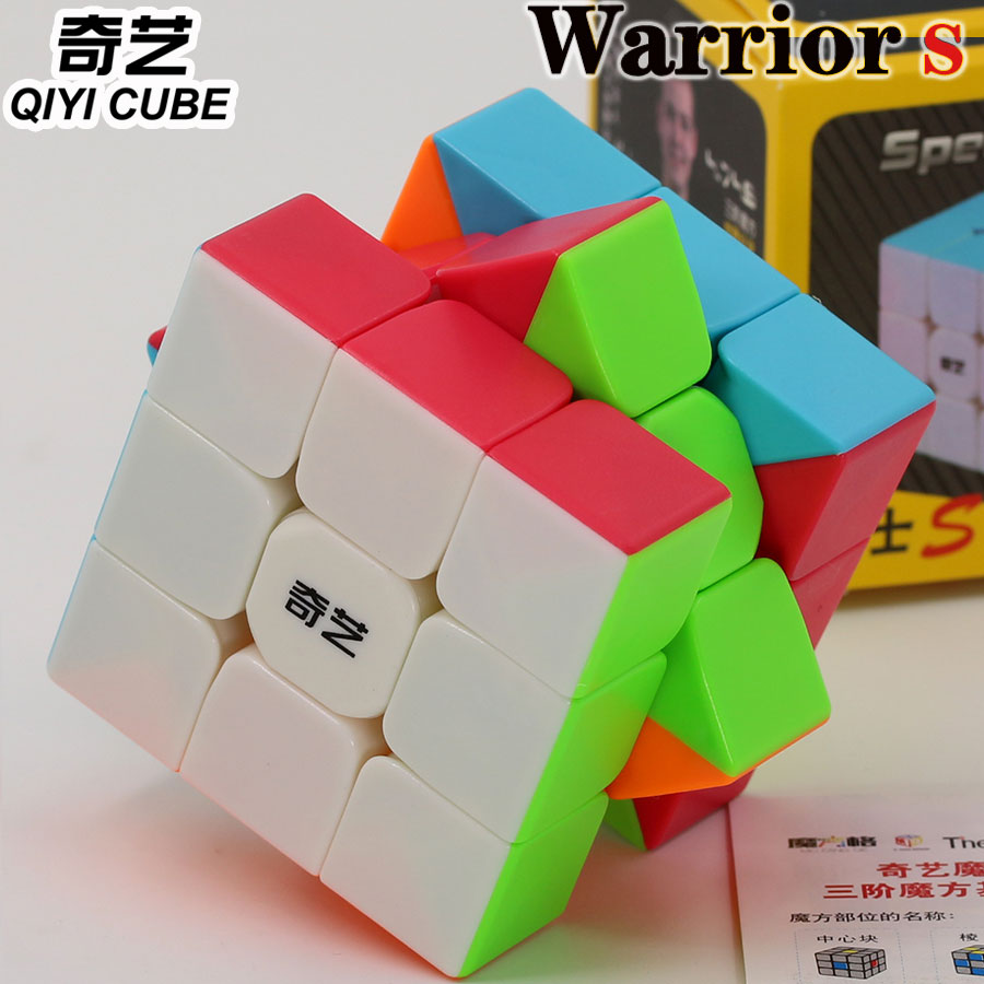 quebra cabeca de cubo magico qiyi xmd warrior s 3x3x3 333 cubo de torcao com velocidade