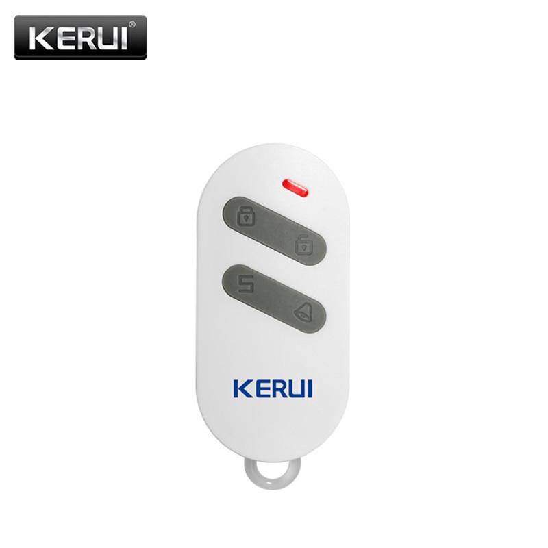 KERUI Wireless Remote Control For Alarm D2 W20 G18 G183 WP7 K52 Arm Disarm Home Alarm System