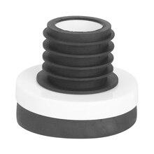 Maison résistant à la température salle de bains fuite preuve déodorant caoutchouc facile installer universel urinoir bague détanchéité toilette bride
