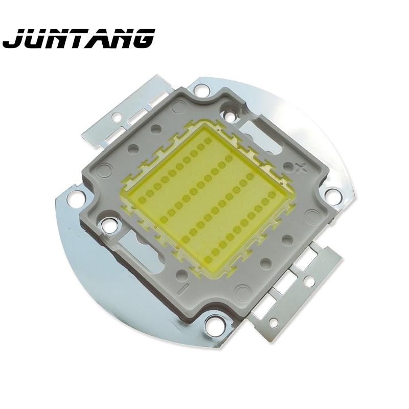 Led de alta potencia de chips bridgelux de EE UU lámpara 40W COB led 35/45MIL chip oro alambre de cobre soporte led perlas de la lámpara