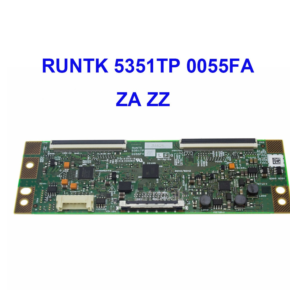 Оригинальная T-Con логическая плата RUNTK 5351TP 0055FV ZA ZZ для ЖК-дисплей светодиодный ТВ контроллер плата логическая плата