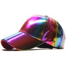 Mode Regenboog Kleur Veranderende Hoeden Cap Luxe Hip-Hop Terug Naar De Toekomst Bigbang G-Dragon Baseball Caps floppy Hoed