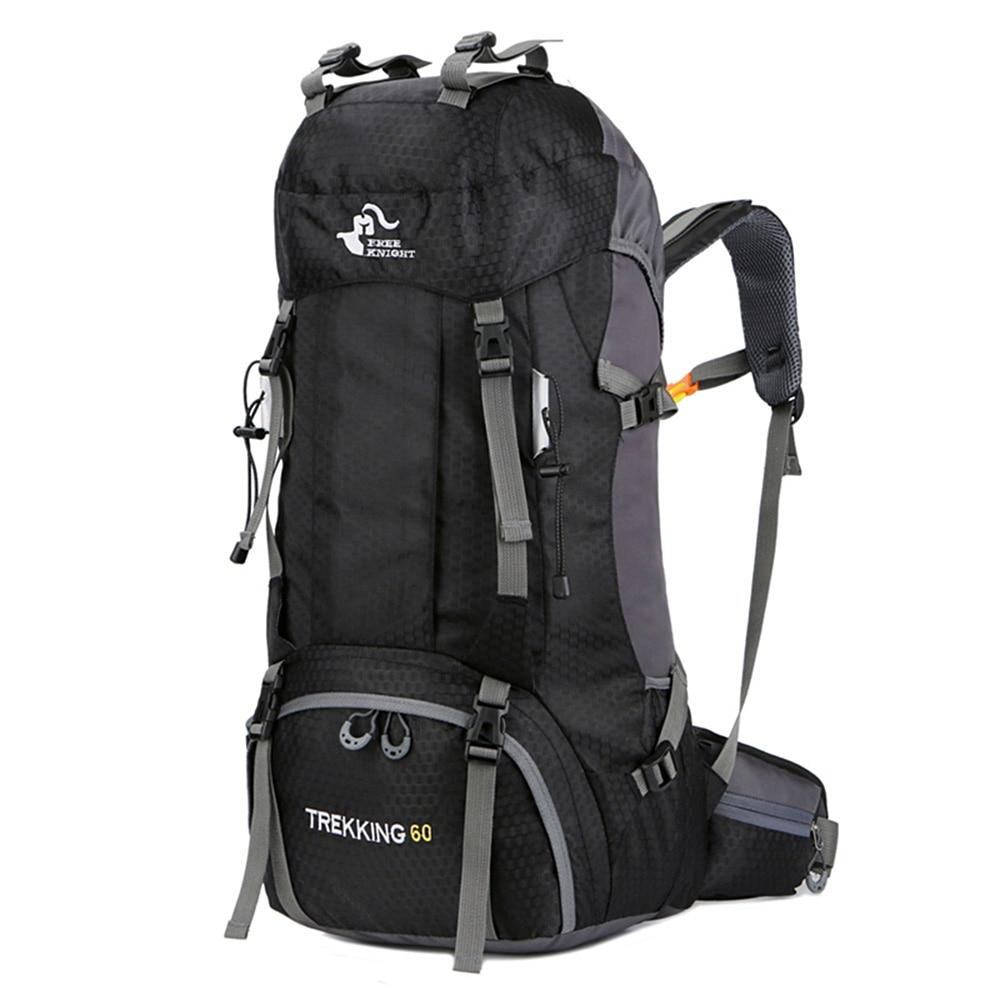Рюкзак для кемпинга, объем 50 и 60 л, водонепроницаемый, для пеших прогулок, альпинизма, спорта, альпинизма, для активного отдыха, Новинка