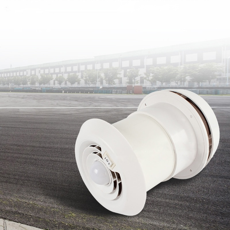 Caravan Accessories RV Fan Roof Air Vent Grille Whit Fan Travel Trailer Air Vent enlarge
