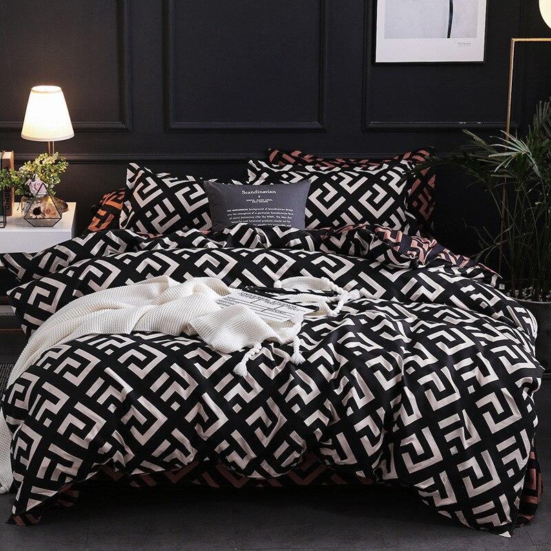 Claroom-طقم سرير فاخر ، طقم سرير ، غطاء لحاف ، كتان ، XI30 #