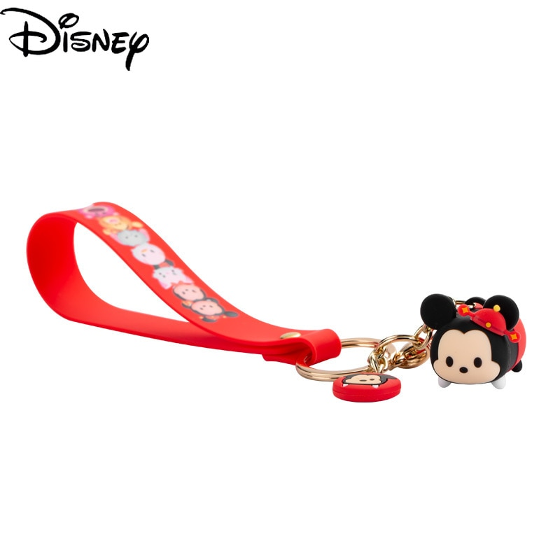 Disney Cartoon Mickey Minnie U Disk Memory 32G/64G Multifunctional Memo Portable Memory Card Can Be Decorated Keychain