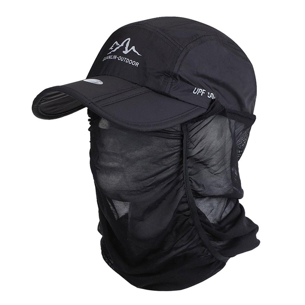 Gorra de béisbol plegable de secado rápido, gorra de béisbol de protección solar Unisex a la moda, gorras de pesca deportivas para viajes de Golf Casuales