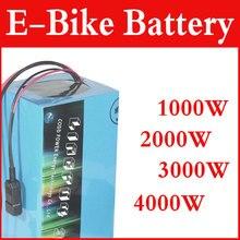 Elektrische fahrrad batterie 24V 36V 48v 60V 72V 20ah 40AH DIY lithium-ionen akku 1000w 2000w ebike batterie Kostenloser gewohnheiten duty