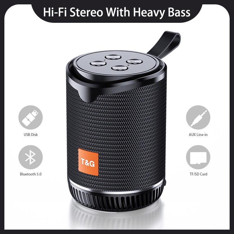 Minialtavoz TWS TG528, inalámbrico por Bluetooth, reproductor de música portátil con Radio...