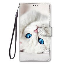 Painted PU Leather Case For Huawei Honor 10/Honor 10 Lite/P Smart 2019/Honor 7X/Honor 8C Filp Cover