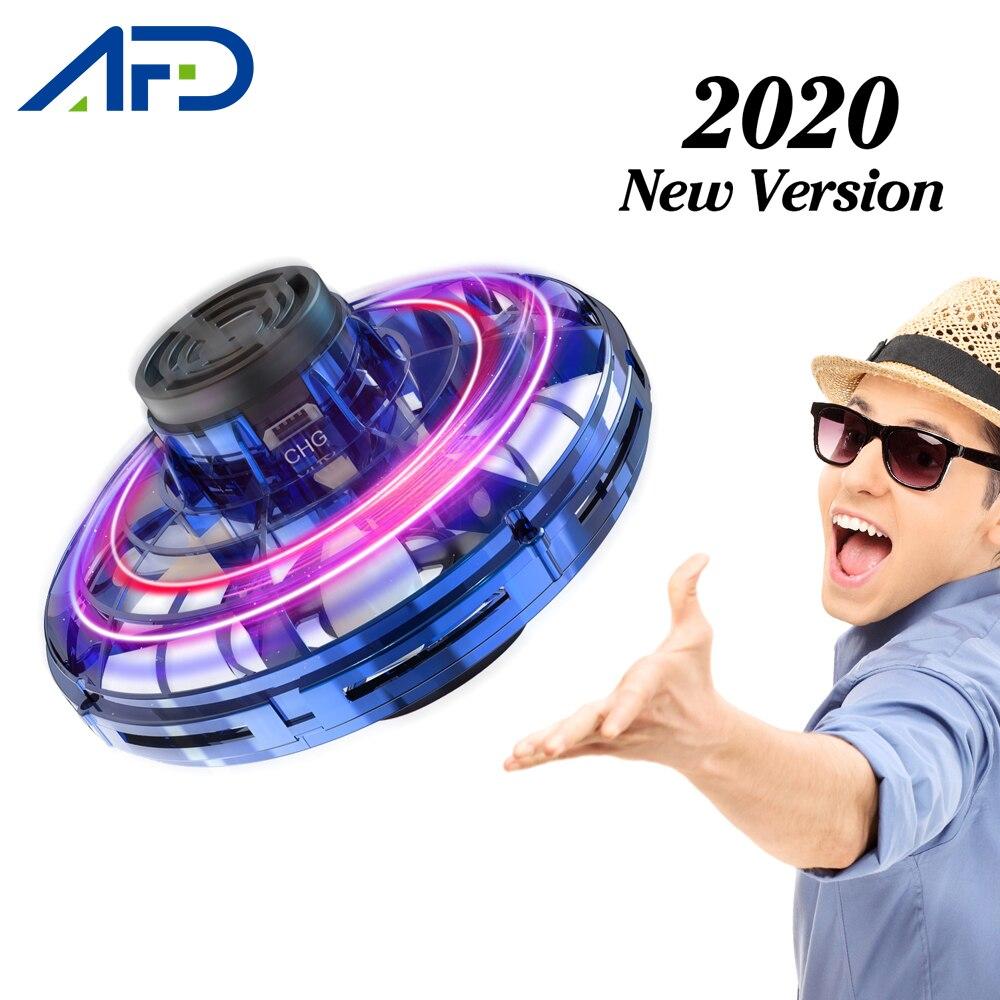 2020 nuevo juguete volador Mini UFO Drone BOLA MÁGICA OVNI de mano avión sensor inducción chico juguetes electrónicos eléctricos regalo de Año Nuevo