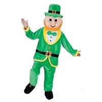 four leaf clover stpatricks day one piece funny cartoon doll costume
