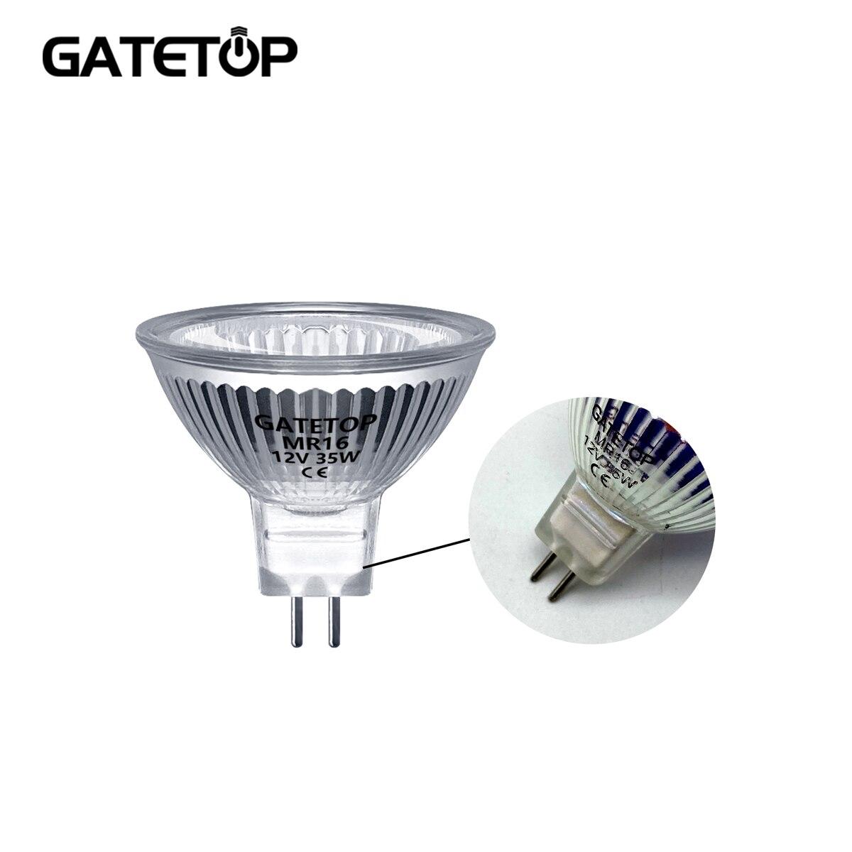 Точечная галогенная лампа MR16 35 Вт 12 В, энергосберегающая, GU5.3, популярный размер