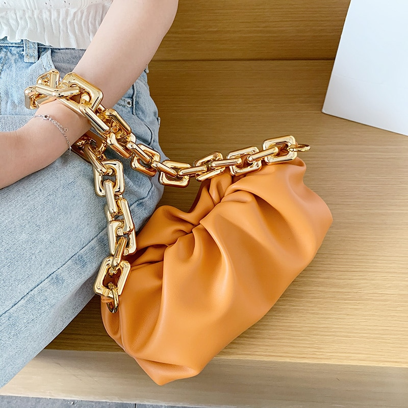 Clutches Hobos Bag For Women Cloud bag Soft Leather Bag Single Shoulder Purse Women Crossbody Bag Handbag And Purse