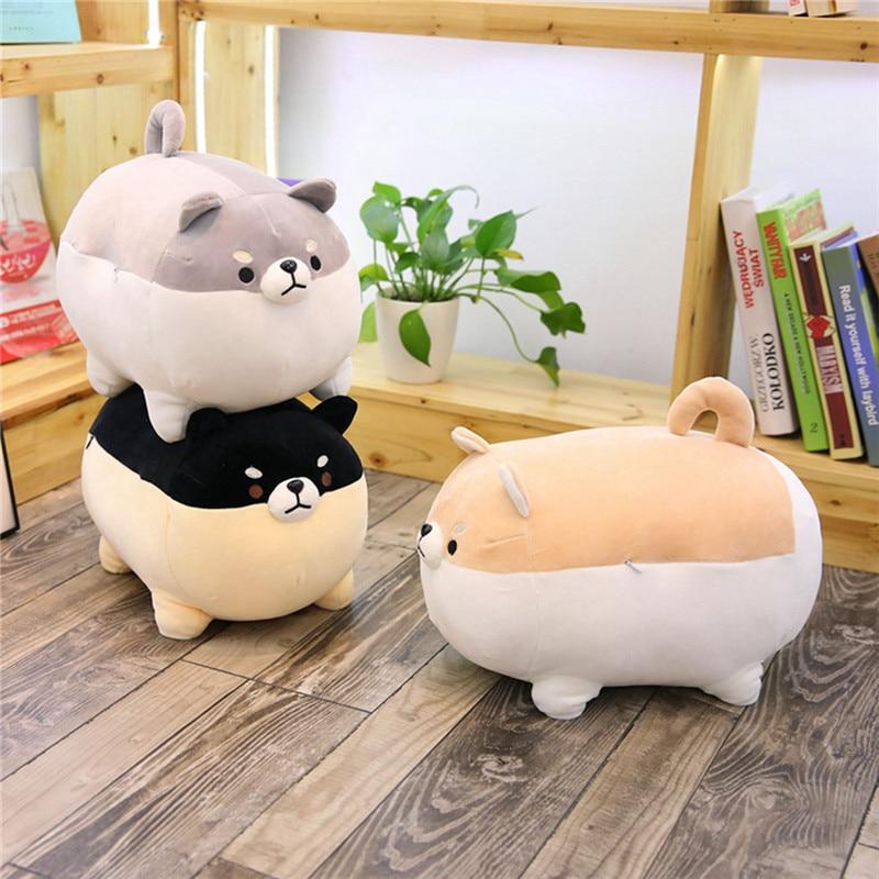 40cm śliczne Fat Shiba inu pies pluszowa zabawka nadziewane miękkie poduszki zwierząt kreskówki śliczne Shiba miękka zabawka piękny prezent dla dzieci dla dzieci dla dzieci
