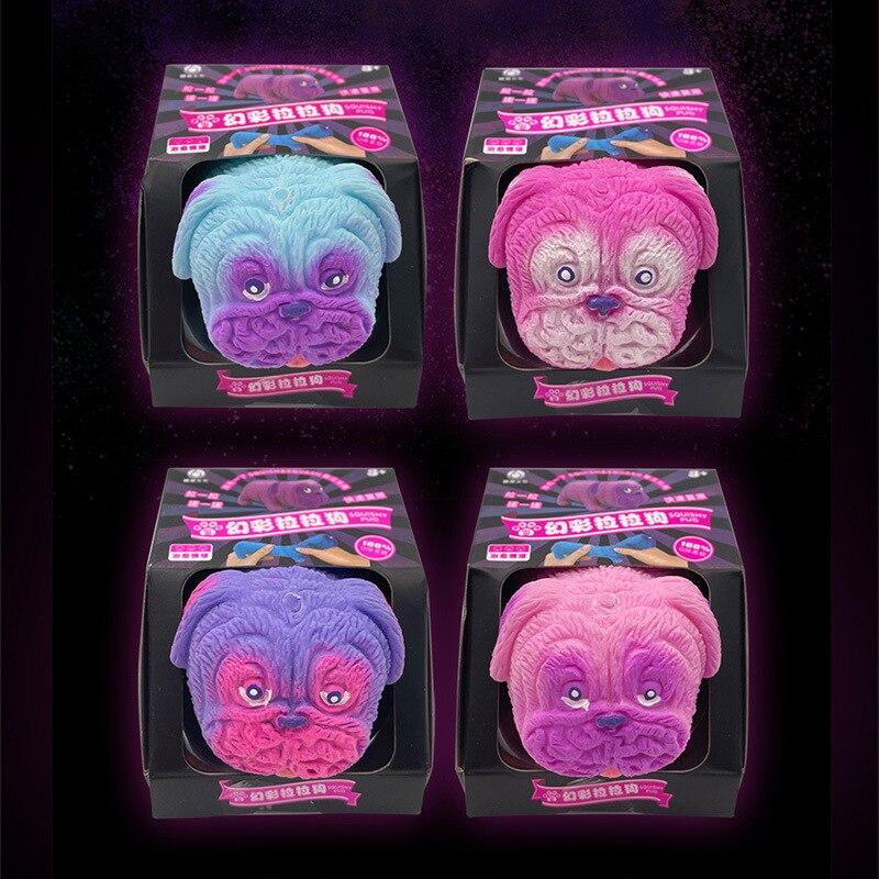 Fidget Toys Unzip Toy It Fidget Dog Lala Squeeze Decompression Vent Shar Pei Slow ReboundToy Stress Relief Hand Toys enlarge