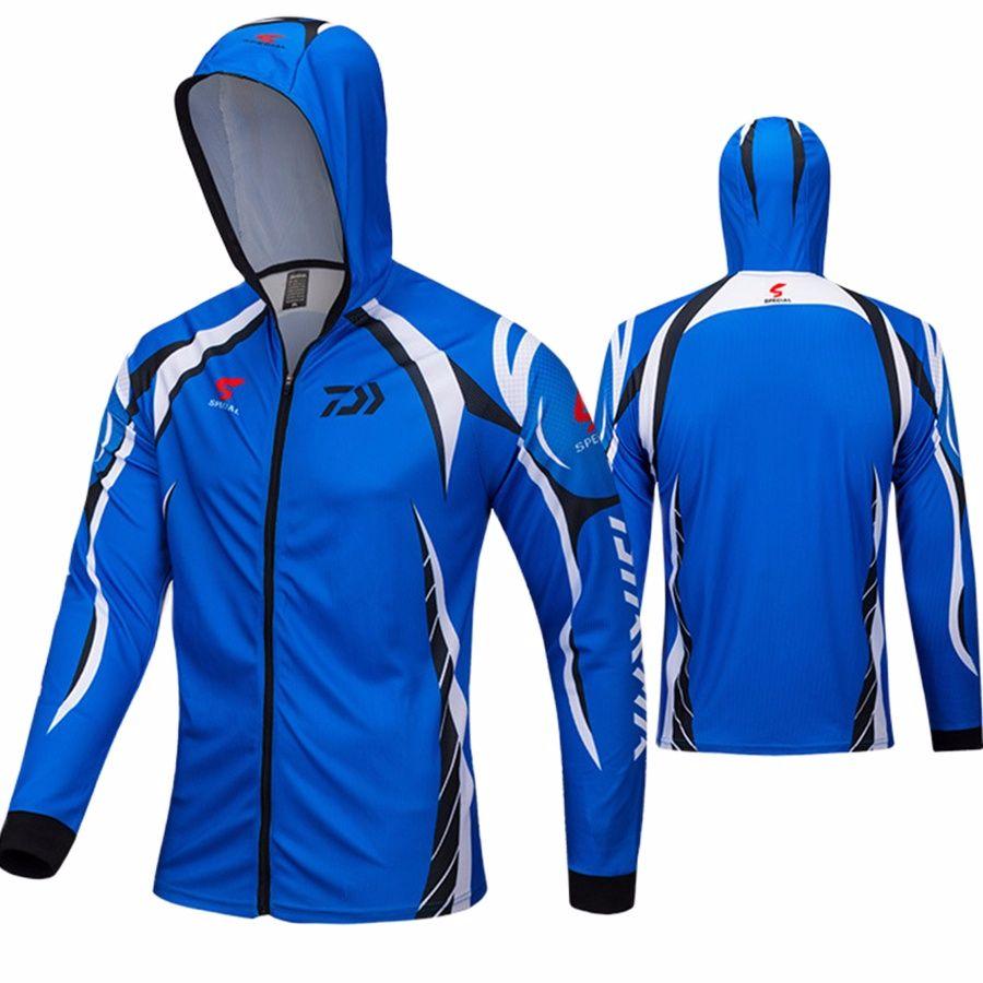 Fishing Shirt Outdoor Sportswear Fishing Suit 40+ UPF Anti-UV Protection Jersey Fishing Tackles Angler Sports Apparel 63-2