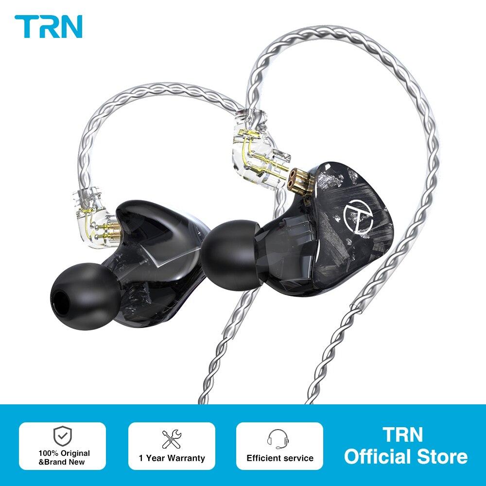 TRN X7 14BA وحدة السائق في الأذن الراتنج سماعة متوازنة Amarture HIFI DJ رصد سماعات مع QDC كابل سماعات TA1 MT1