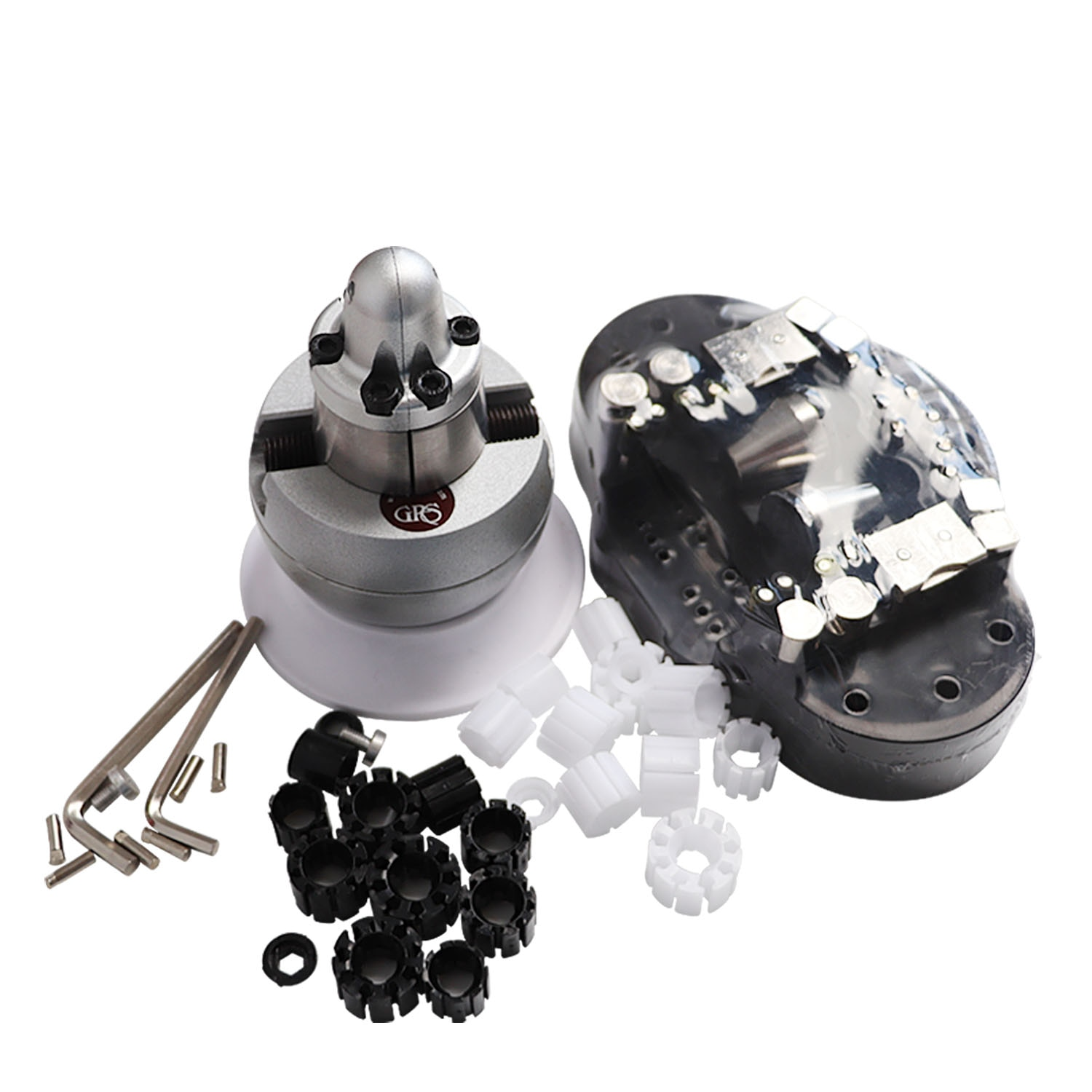 Mini Engraving Ball Vise Tool Block Ring Setting Tools Diamond Stone Setting With Full Attachment Jewelry Equipments