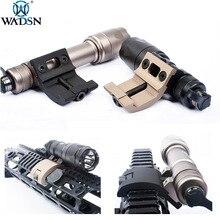 WADSN Airsoft taktyczna broń lekka góra pasuje do Surefir M600C M600 M300A M300 pistolet taktyczna latarka góra Fit Picatinny Rail