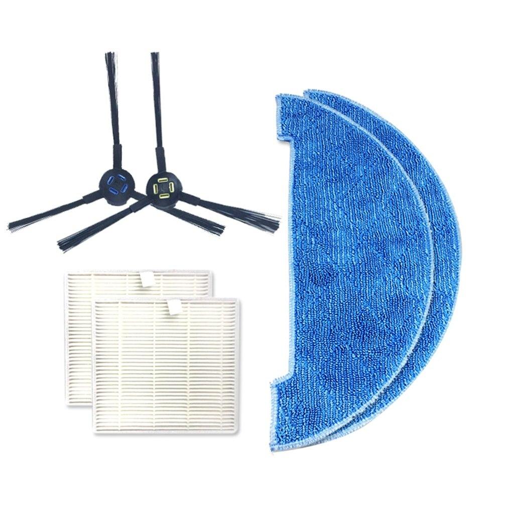 Para Ilife V8 V8S reemplazo limpieza almohadilla limpieza mopa accesorios de Robot aspirador limpieza accesorios toallita