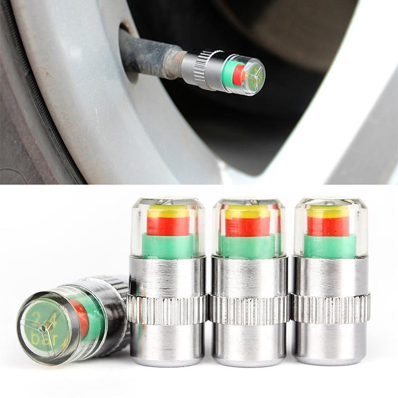4X estilo de coche de monitoreo de presión de neumáticos de coche válvula con tapa para rueda, cubierta de aire, llantas apretadas para Opel Astra H J G Insignia Mokka Corsa