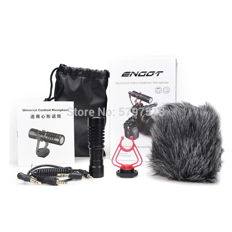 Cámara shotgun Video micrófono Mic Videomicro para boya by-mm1 Canon EOS/Nikon videocámara y cámara, teléfono móvil Android/iPhone