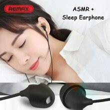 REMAX RM-588 ASMR in-ear auriculares para ayudar a dormir a reducir el ruido auriculares estéreo para Samsung S8 S9 A50 S10 C5 C7 Pro