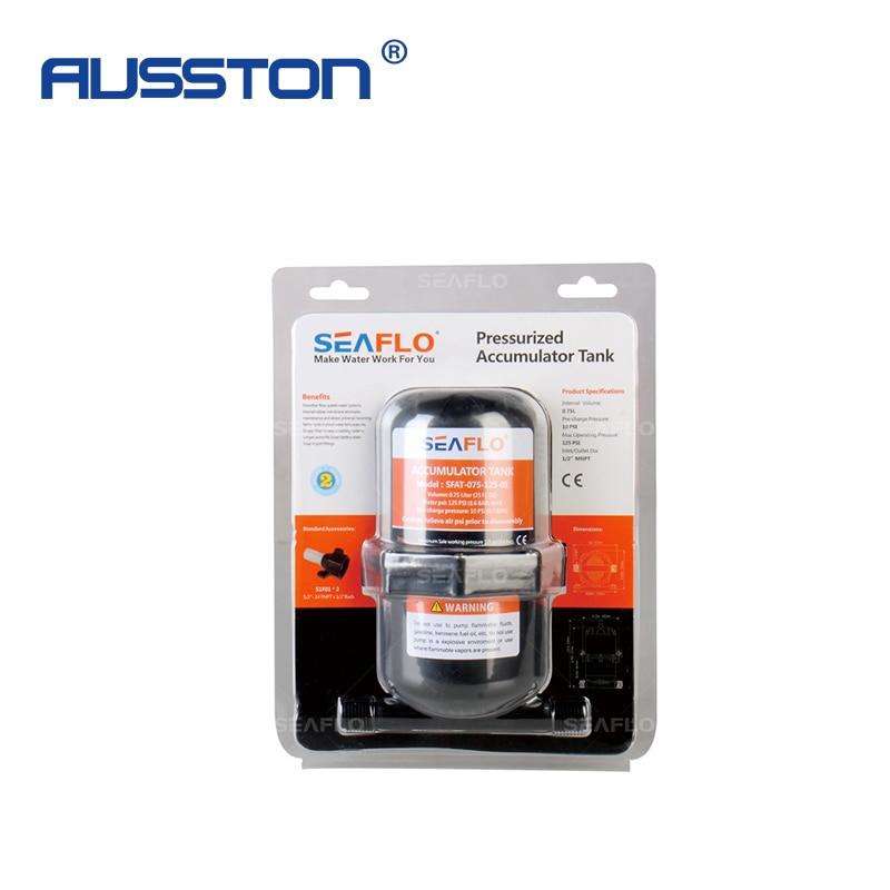 RV Marine Water Accumulator Tank 1.0 Liter Pressurized Pressure Tank Stabilization Boat Water Pump 125 PSI Car Boat Accessories enlarge