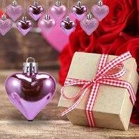 Decorations en forme de coeur pour la saint-valentin  36 pieces  pendentifs romantiques pour la maison  pour une fete de mariage