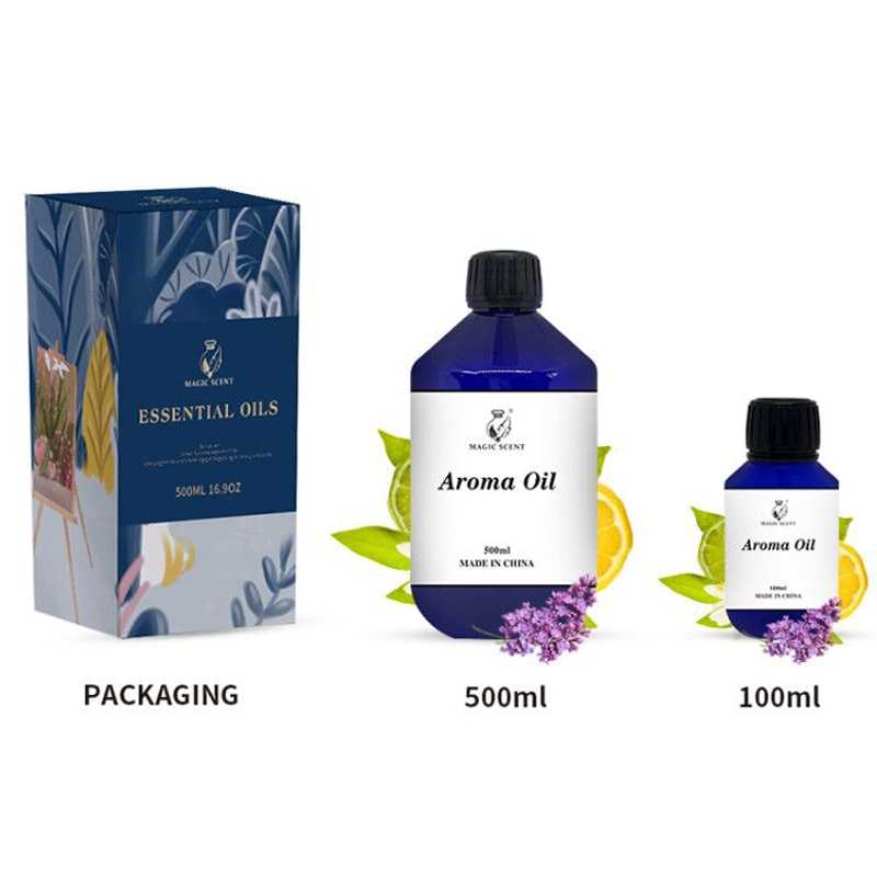 Hotel Fragrance 500ML Floral Aroma Oils Flower Essential Oils Perfume For Aroma Diffuer Machine Air Freshener enlarge