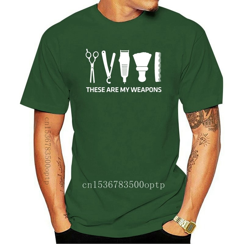 New 2021 Fashion Summer Style Barbers Weapons - These Are My Standard Women T-Shirt Tee shirt
