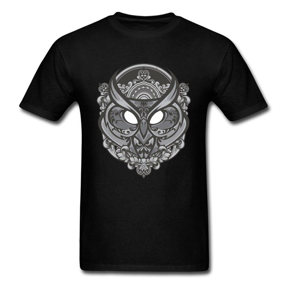 Camiseta negra estampada Retro para hombre, camisa de manga corta Formal para...