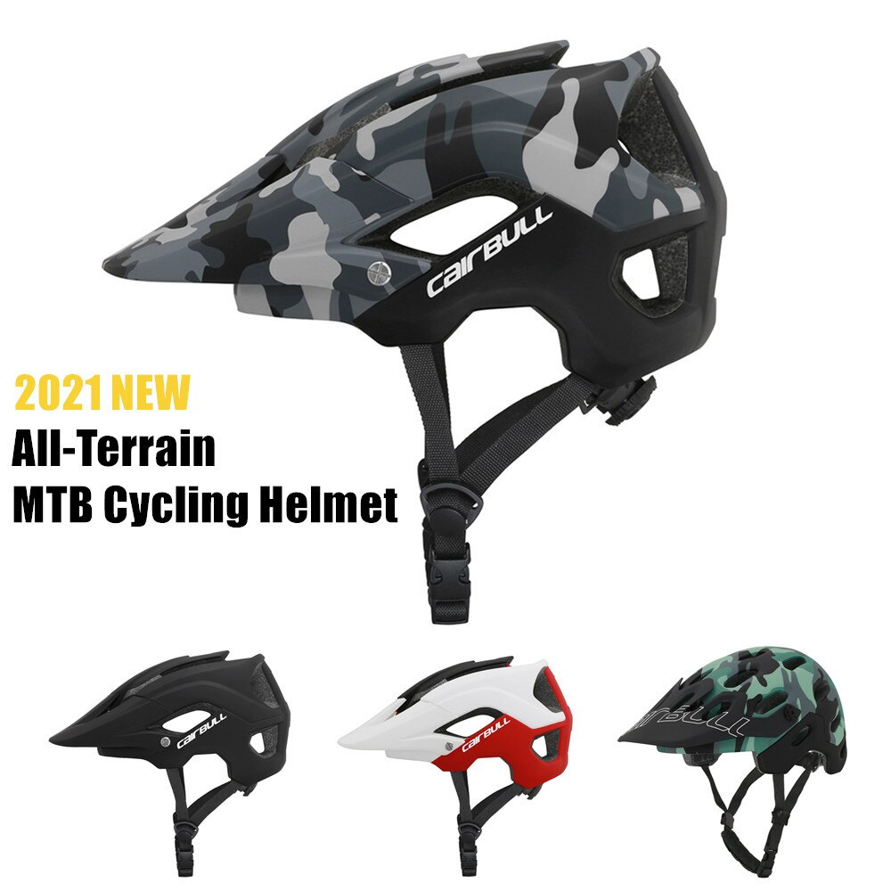 Cairbull-Casco de seguridad de conducción para Bicicleta de montaña, nuevo accesorio para...