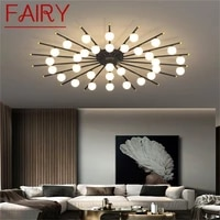 fairy nordic creative ceiling light modern branch lamp fixtures led home for living dining room