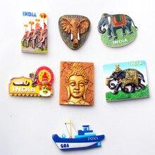 3D Fridge Magnets INDIA  GOA  Travel Souvenir Refrigerator Magnetic Sticker Craft Home Decor