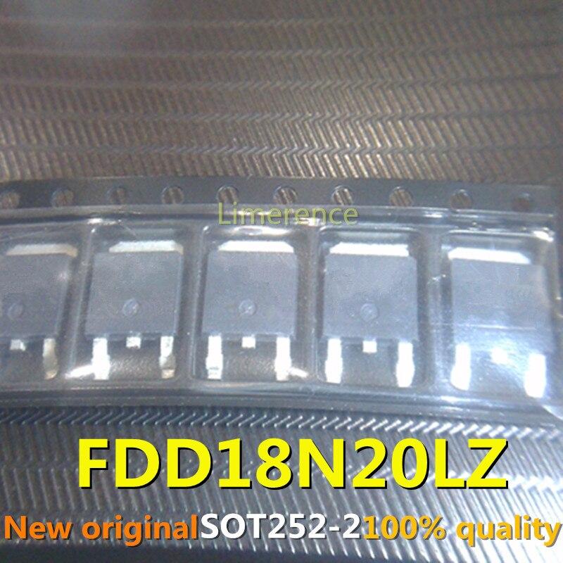 10 pces dv2 fdd18n20lz 18n20gh ap18n20gh 18n20 to252 suporte que recicla todos os tipos de componentes eletrônicos