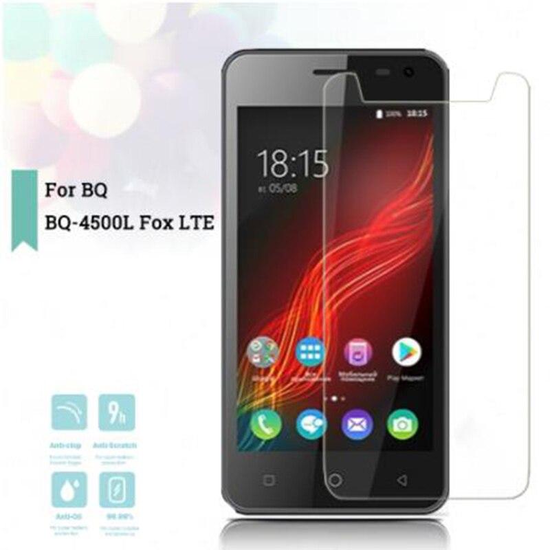 For BQ BQ-4500L Fox LTE Tempered Glass 9H 2.5D High Quality ON BQ BQ-4500L  Screen Protector Glass  Film Cover