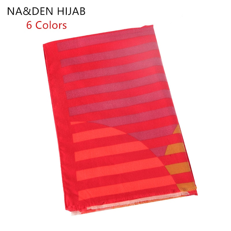 Solid shalws Fashion Striped winter scarf Hi-Q lady wraps Islamic bandana Elegant scarves Muslim hijab Viscose Long muffler 8pcs