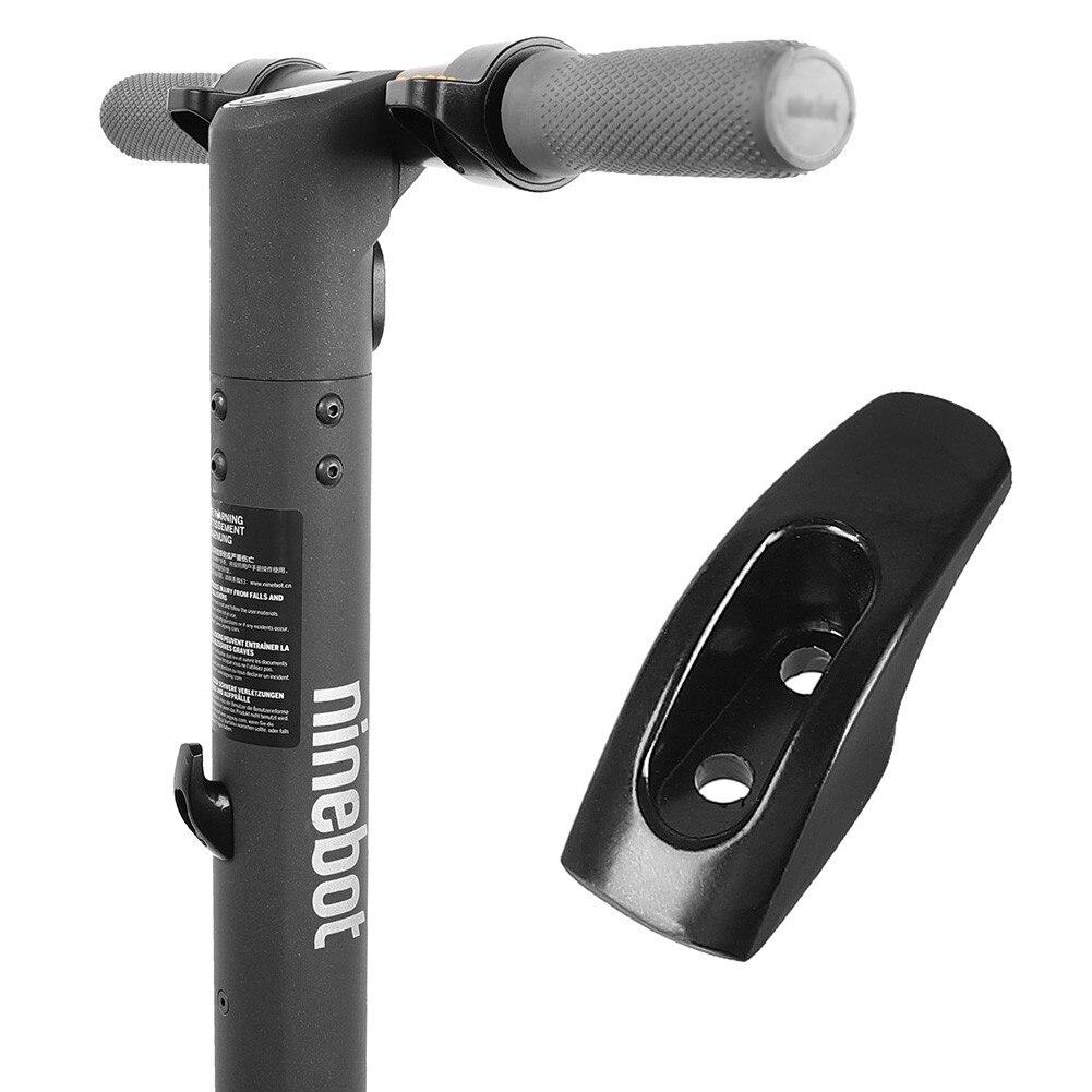 1 шт., металлический крюк для скутера, прочные скутеры, модель Ninebot ES1 ES2, аксессуары для электрических скутеров, запчасти 45x25x15 мм