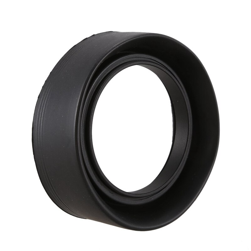 52mm 3 etapas parasol de goma plegable para Canon 50/1. 8 Nikon 18-55 50/1. 8D