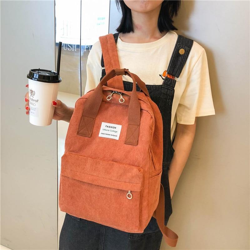 2021 New Trend Backpack Fashion Women Backpack College Female School Bagpack Harajuku Travel Shoulder Bags For Teenage Girls