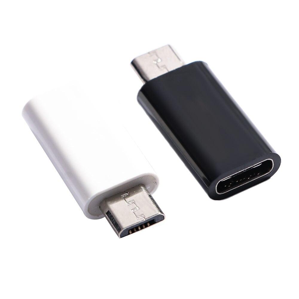 Conector macho tipo C a Micro USB 2,0 hembra, convertidor USB 3,1, adaptador de datos, novedad de 2020, envío directo